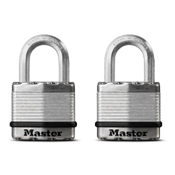 MasterLock M1XTHC 2pk 1-3/4in. Lam Padlock