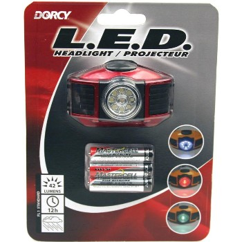 Headlight ~ Multi-Function w/3 Color LEDs