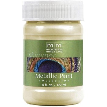 Metallic Paint, Flash Gold 6 Ounce