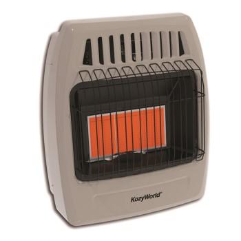 World Mktg KWD325 InfraredSpace Heater, Dual Fuel ~ 18,000 BTU