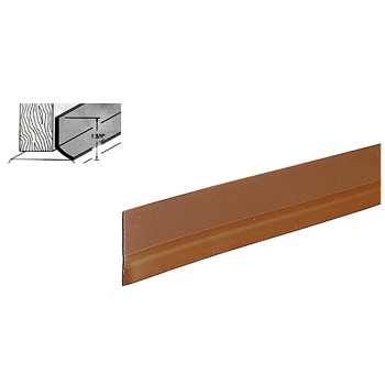 "Self-Adhesive Door Sweep, Brown  ~ 1 3/4"" x 36"""