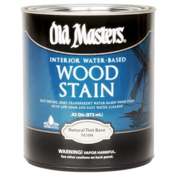 Water-Based Interior Wood Stain, Tint Base ~ Gallon