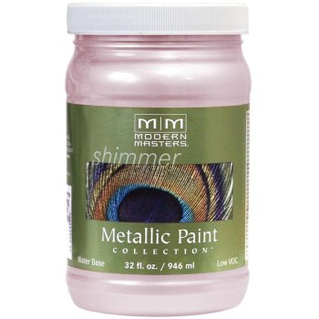 Modern Masters ME246-32 Metallic Paint, Rose ~ 32 oz