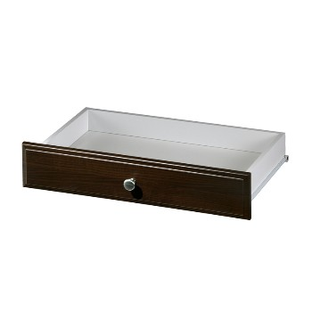"Deluxe Drawer,  Truffle Finish ~ 24"" x 14"" x 4"""