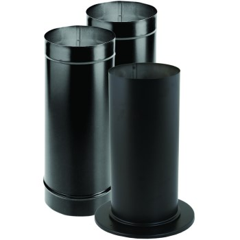 Single Wall Stove Pipe Kit - 6""