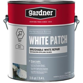 Gardner-Gibson SK-3901 Sta-Kool Elastomeric Patch, White ~ Gallon