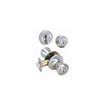 Hardware House/Locks 424341 Lockset Deadbolt Combo, Pelham