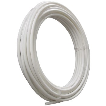 1 X 100ft. Pex Wht Coil Tube