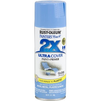 Rust-Oleum 249093 Painters Touch 2X Ultra, Spa Blue Gloss ~