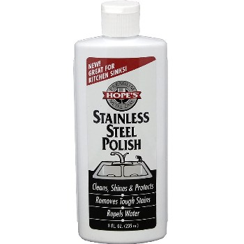 Stainless Steel Polish,  Hope's Brand ~ 8 oz