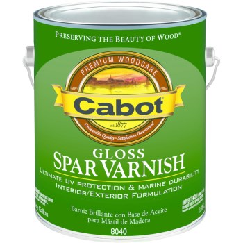Spar Varnish, Gloss Finish ~ One Gallon