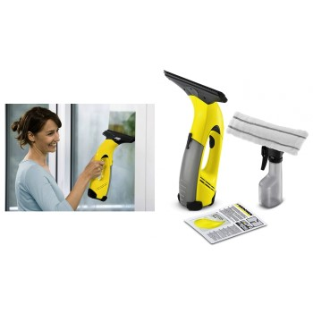 Power Squeegee WV 50 Plus Window Cordless Vac & Spray Bottle