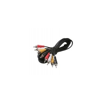 6 Quad Rca Patch Cord