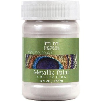 Metallic Paint, Oyster 6 Ounce