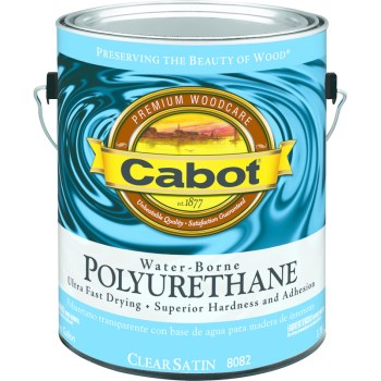 Water Borne Interior Polyurethane, Satin ~ Gallon