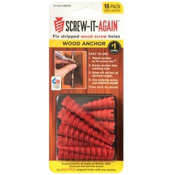 Screw-It-Again SIA-10PK Wood Anchors
