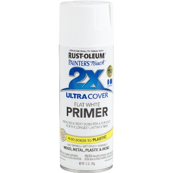 Rust-Oleum 249058 Primer, White - 2X Spray