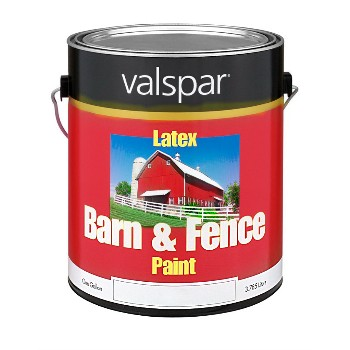 Valspar/McCloskey 18-3121-70-07 Barn and Fence Latex Paint - White