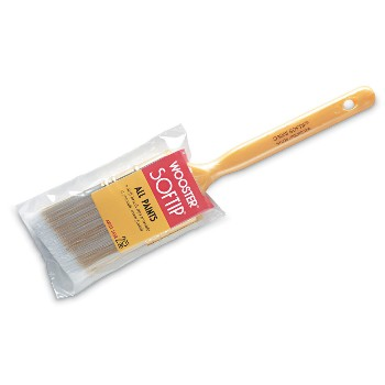Golden Softip Angle Sash  Brush ~ 1 1/2""