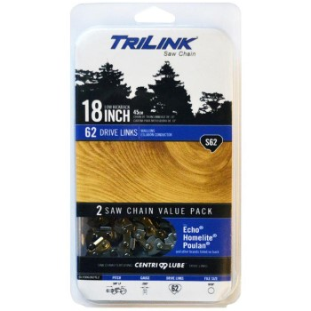 TriLink Saw Chain CL15062X2TL2 2pk 18in. S62 Chain