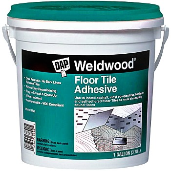DAP 00137 Floor Tile  Adhesive ~ One Gallon