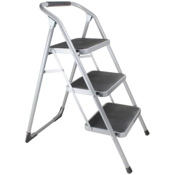Folding Step Ladder, 3 Steps