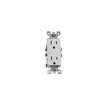 Leviton S02-05325-0WS Wh Ground Outlet