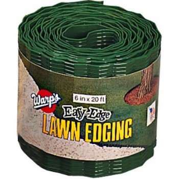 "Lawn Edging - Green - 6"" x 20 ft"
