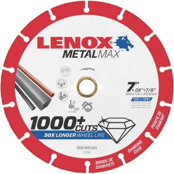 Lenox  7x7/8in. Cutoff Wheel