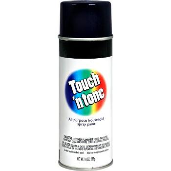 DAP 276 Touch N Tone Spray Enamel ~ Gloss Black