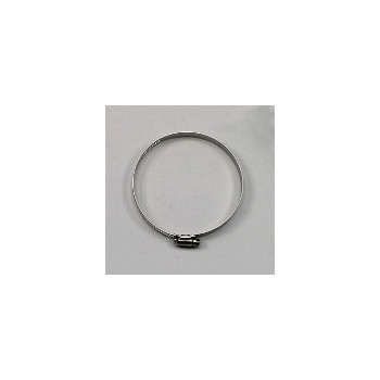 Ideal Clamp Prods 50720-53 Hose Clamp, 3-1/8 x 5 inch