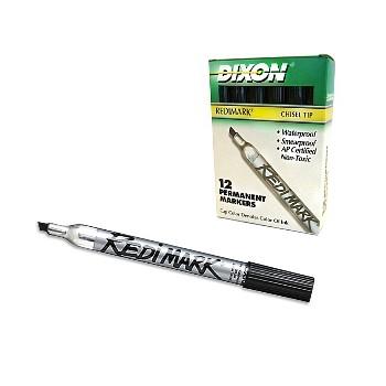 Dixon/Prang/Ticonderoga 87170 Redi-Marker, Black