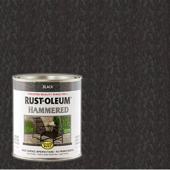 Stops Rust®  Black Hammered Finish ~ Gallon