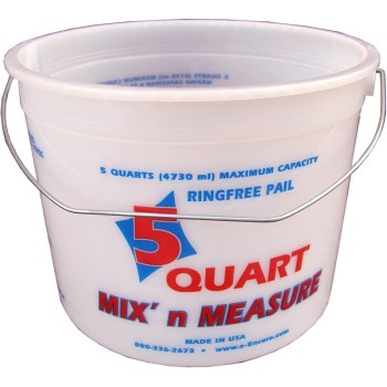 Mix 'N Measure Pail w/Graduations ~ 5 Qrt Capacity