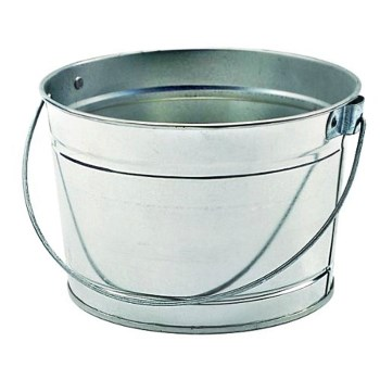 Metal Pail with Handle ~ 2.5 quart