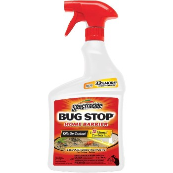 Bug Stop Home Barrier, Spray ~ 32oz.