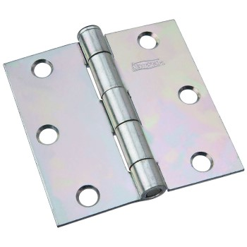 "Loose-Pin Board Hinge, Zinc Plated ~ 3"" x 3"""