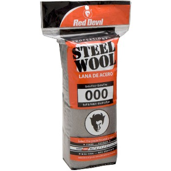Steel Wool Pads,  #000 Extra Fine  ~ 16 Pads/Pack