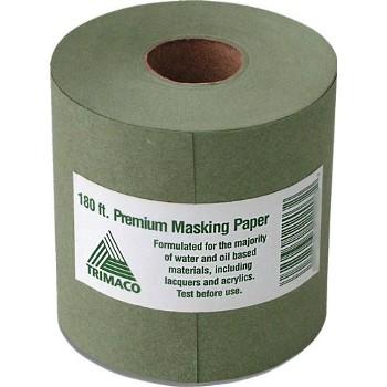 """Trimaco 12206 Masking Paper ~ Prem Green, 6"""" x 180 ft"""
