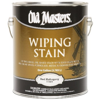 Wiping Wood Stain, Red Mahogany ~ Gallon