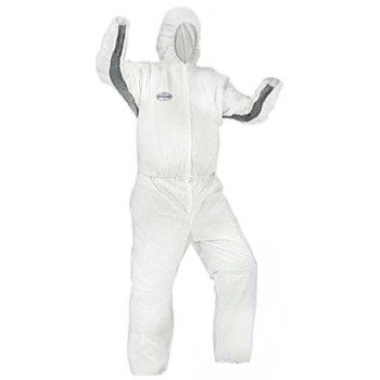 White Coveralls, Breathable Splash & Particle Protection -  XL ~ Pack of 25