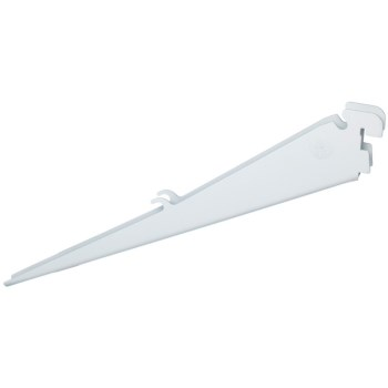 Shoe Shelf Bracket - White