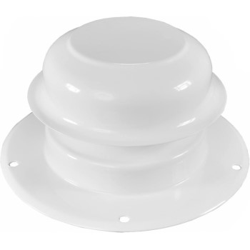 "Painted Galvanized 2"" Plumbing Cap ~ For 1 1/2"" Pipe"