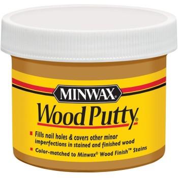 Minwax 13619 Wood Putty,  Pickled Oak ~ 3.75 oz