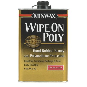 Wipe-On Poly, Satin ~ Quart