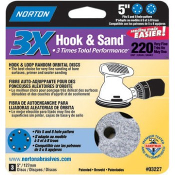Norton 0 Prosand 220 H&L Disc