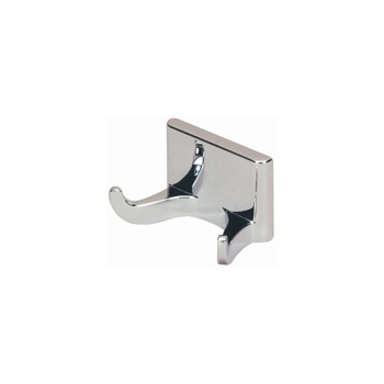 Double Robe Hook, Sunset Chrome