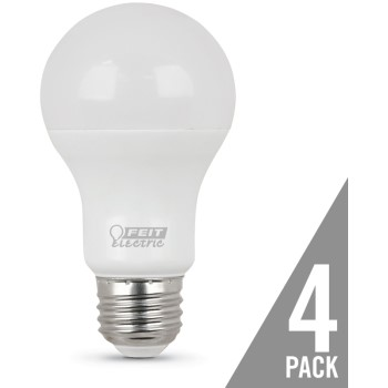 LED Non-Dimmable Bulb, 450 Lumen, 2700K ~ 4 Pack