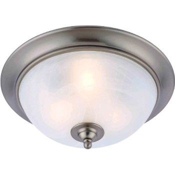 Ceiling Light Dover Design, 3 light ~ Satin Nickel