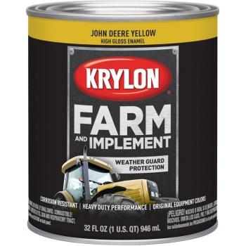 Krylon K02025000 2025 Qt John Deere Yellow